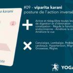 09-viparitakarani - Posture de l'action inversée