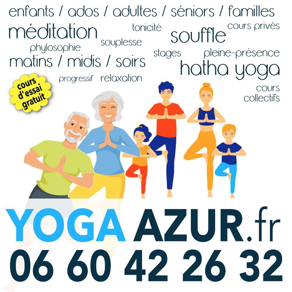 Cours de Yoga pour tous - Eric Savalli - Yoga Azur