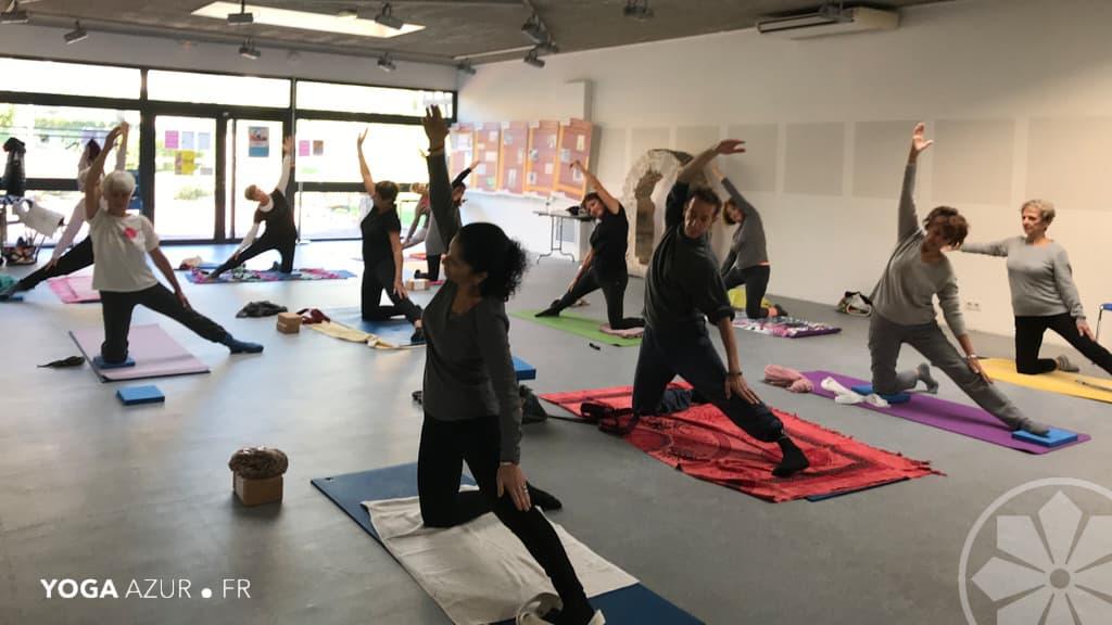 Yoga à Antibes avec Eric Savalli / Yoga Arur