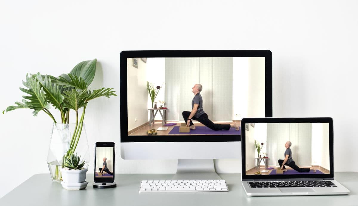 Yoga en ligne avec Yoga Azur