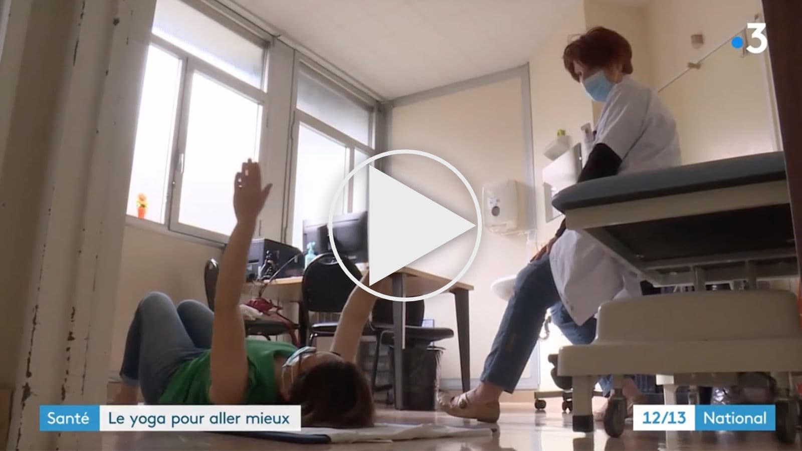 Yogatherapie à l'hopital