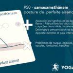 Samasamsthānam - posture / asana de la parfaite aisance