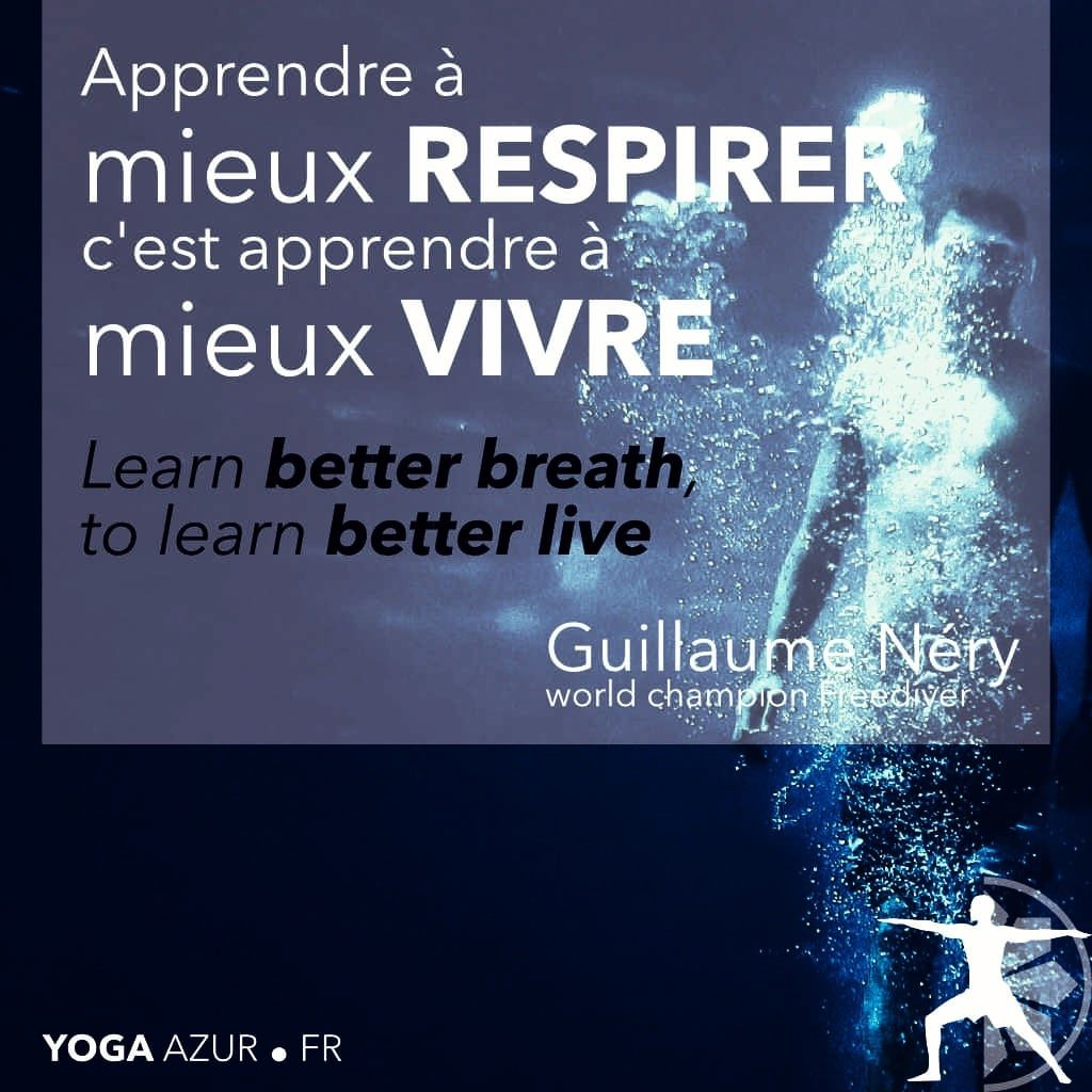 Guillaume Néry - Apprendre à mieux respirer c'est apprendre à mieux vivre