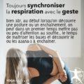 Synchroniser son souffle avec son geste